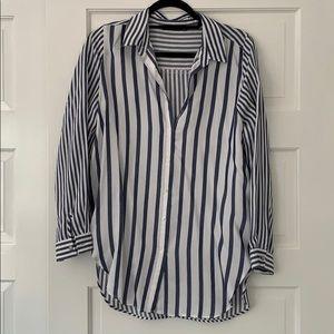 Zara striped button down size M